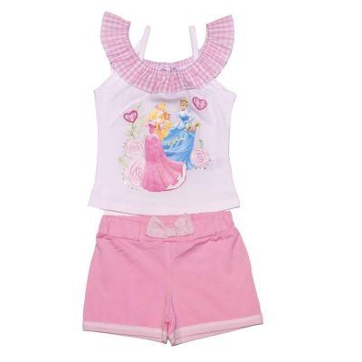 Set Bluza/pantalon scurt Princess -Alb Alb 5ani(110cm)