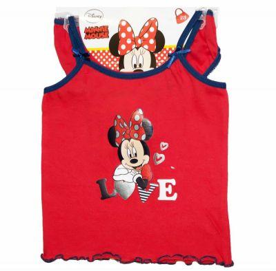 Set maiou+chilot Minnie Mouse Rosu 6-8ani