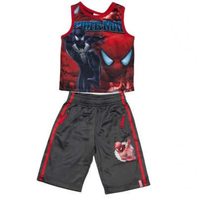 Set Maiou/Pantalon scurt Spiderman