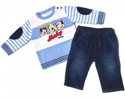 Set pulover-blug Mickey-Bleu
