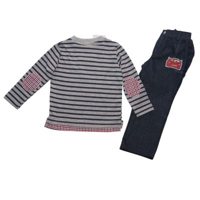 Set tricou ML-pantalon Blug Cars 4ani(104cm)