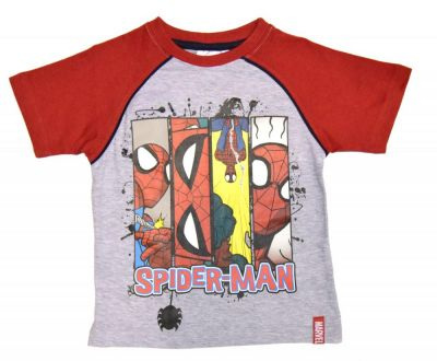 Set tricou + PS Spiderman-Rosu