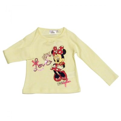 Tricou ML Minnie-Crem Crem 8ani(128cm)