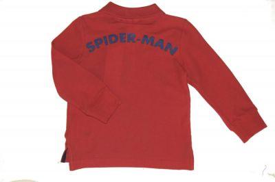 Tricou ML  Polo  Spider-Rosu
