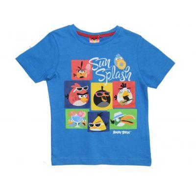 Tricou MS Angry Birds -Albastru