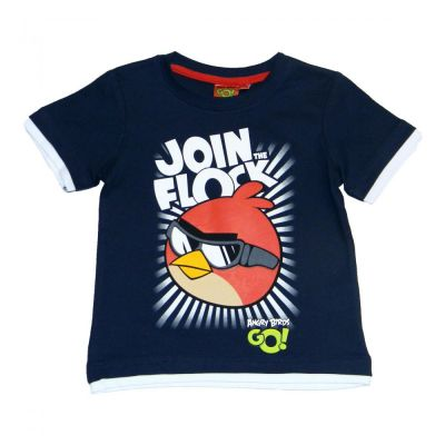Tricou MS Angry Birds