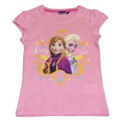Tricou MS Frozen-Roz Roz 5ani(110cm)