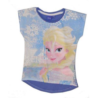 Tricou MS Frozen-Albastru