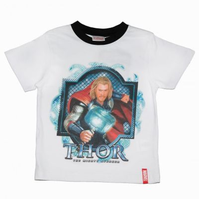 Tricou Thor -Alb
