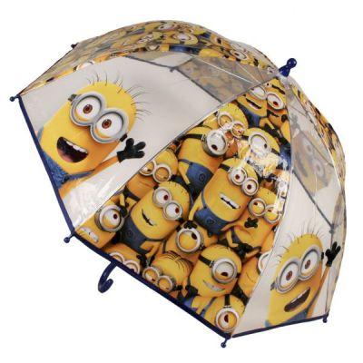 Umbrela transparenta Minions