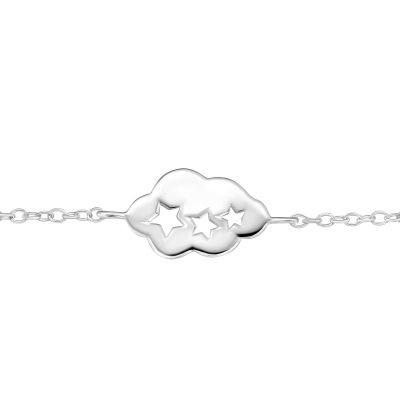 Bratara Cloud din Argint 925