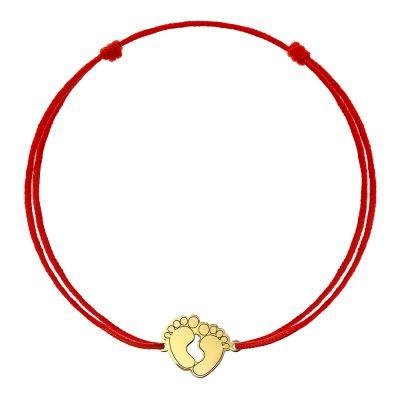 Bratara Talpi Mici din Aur aur galben femeie maro