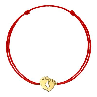Bratara Talpi Mici din Aur aur galben nou-nascut maro
