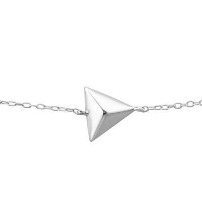 Bratara Triunghiul Intelepciunii din Argint 925