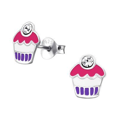 Cercei Cupcake din Argint 925