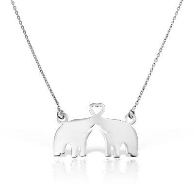 Colier Elefanti din Aur