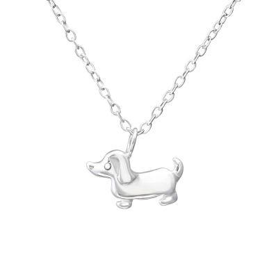 Colier I Love My Dog din Argint 925