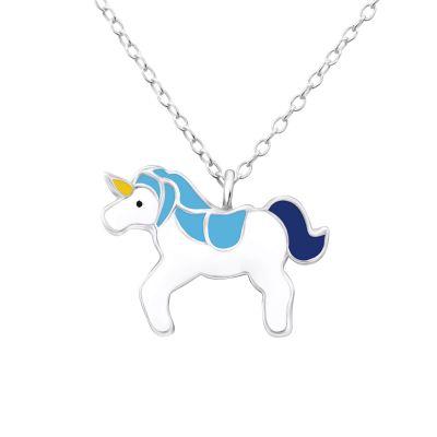 Colier I'm a Unicorn din Argint 925