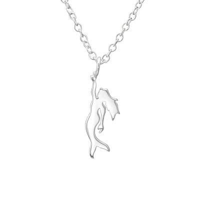 Colier Sirena din Argint 925