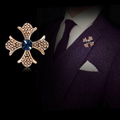Brosa cruce malteza Croix Silver