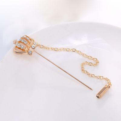 Brosa sceptru coroana Regatta