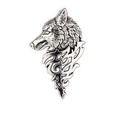 Brosa cap de lup Draco