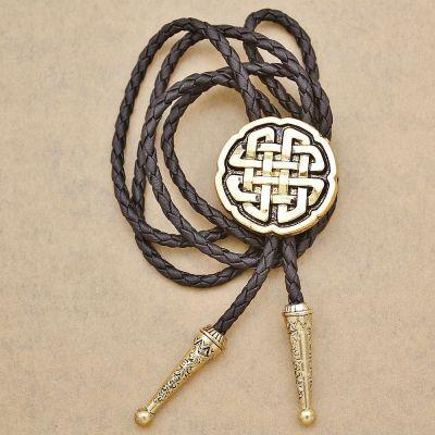 Cravata americana Bolo nod Celtic Knot