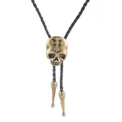 Cravata americana Bolo craniu Skull