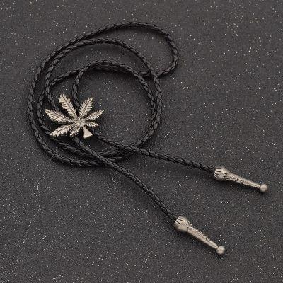Cravata americana Bolo frunza Cannabis Marijuana