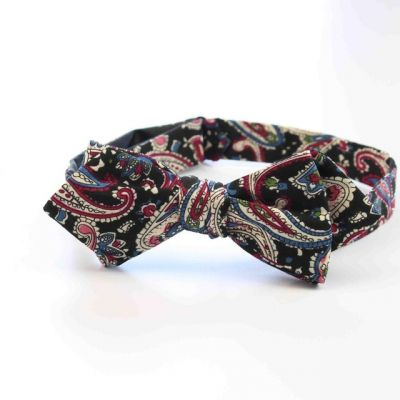 Papion self-tie paisley multicolor Street Couture