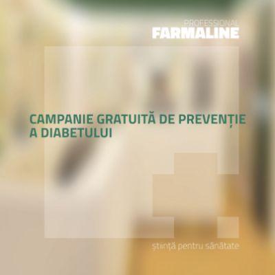 Campanie gratuita de preventie a diabetului