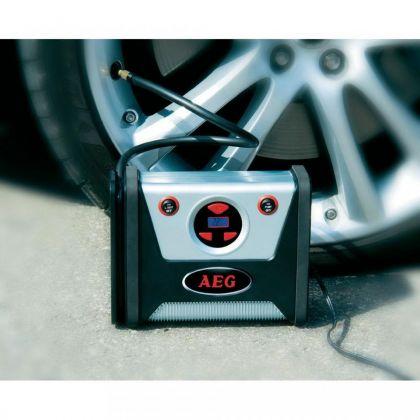 Compresor auto cu lanternă LED AEG KD 7.0 (12 V)