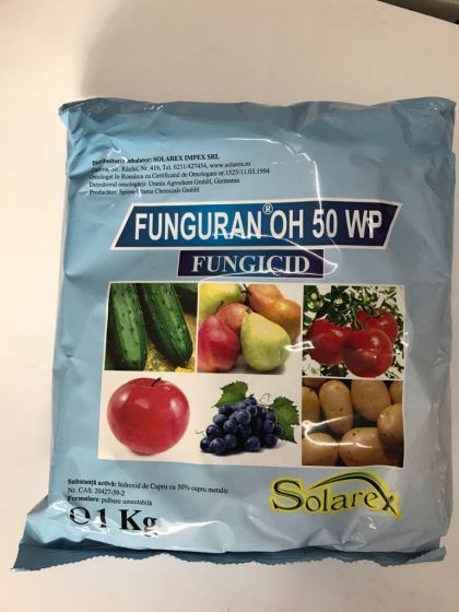 Fungicid Funguran OH 50 WP, 1 kg