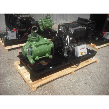 Motopompa Profesionala Lombardini LDW 2204 SKM 80/2
