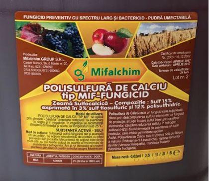 Polisulfură de calciu tip MIF, 2 litri