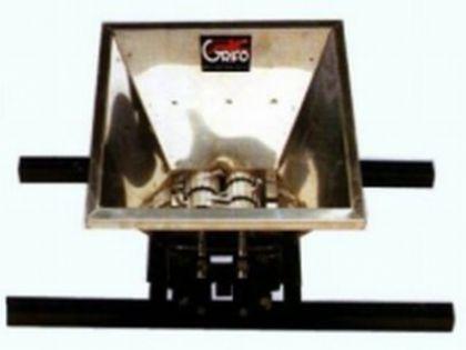 Zdrobitor fructe mic, manual, cuvă inox 430 X 360 mm