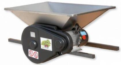 Zdrobitor struguri mare - cu motor 220 V, 1 CP, cuvă inox 950 X 600 mm