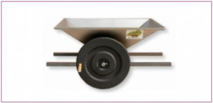 Zdrobitor struguri mare - manual, cuvă inox 950 X 600 mm