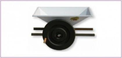 Zdrobitor struguri mic - manual, cuvă vopsea emailată 800 X 500 mm