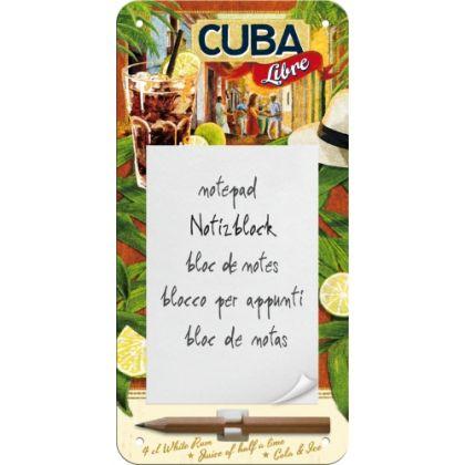 Bloc notes magnetic Cuba Libre