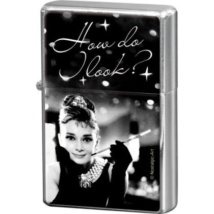 Bricheta metalica Audrey Hepburn