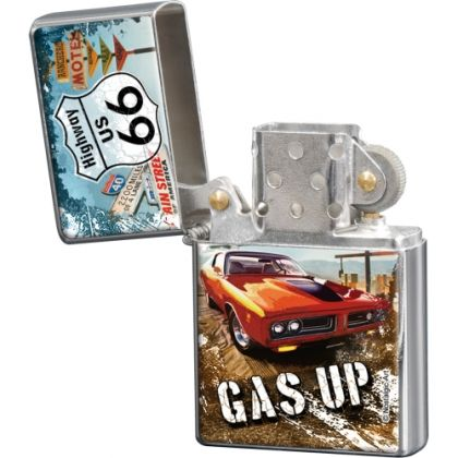 Bricheta metalica Route 66 - Gas Up