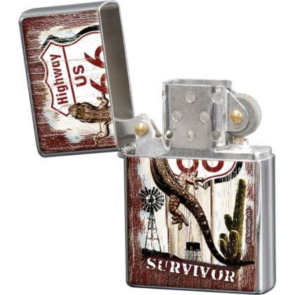 Bricheta metalica Route 66 - Survivor