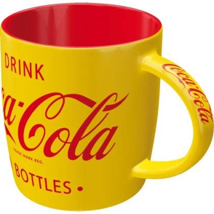 Cana Coca-Cola Yellow