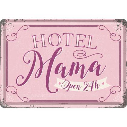 Carte Postala Metalica 10x14 Hotel Mama