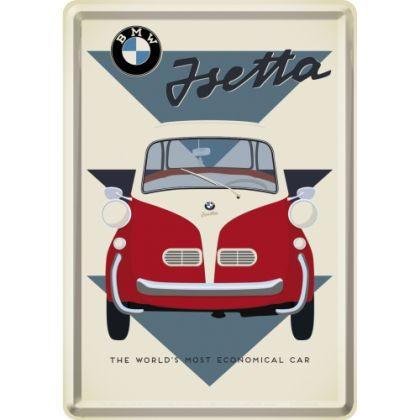 Carte postala metalica BMW - Jsetta