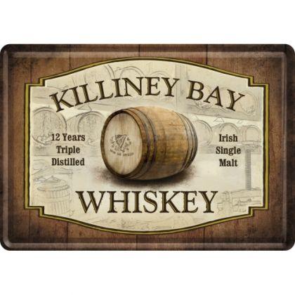 Carte postala metalica Killiney Bay Whiskey
