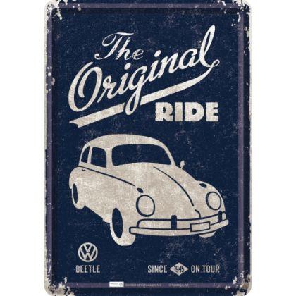 Carte postala metalica VW The original Ride 1945