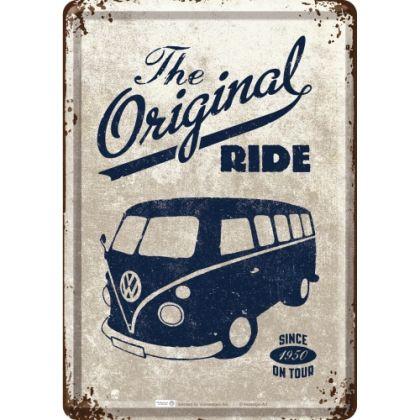 Carte postala metalica VW The original Ride1950