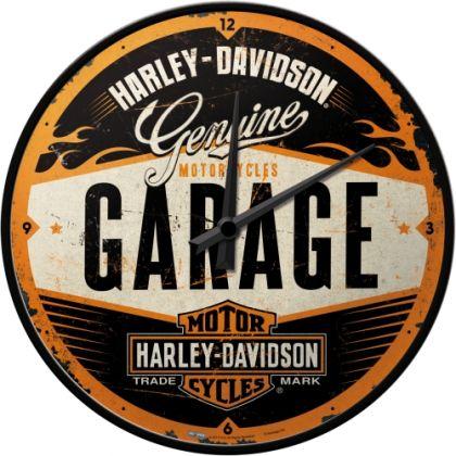 Ceas de perete Harley-Davidson GArage